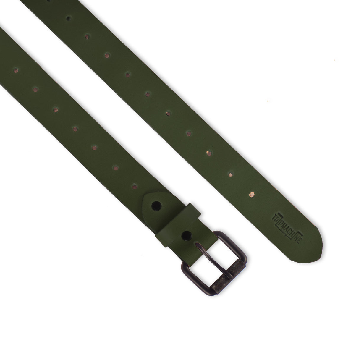 Belt - Army Green Single Pin