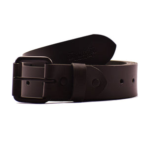 Belt - Matt Black Single Pin