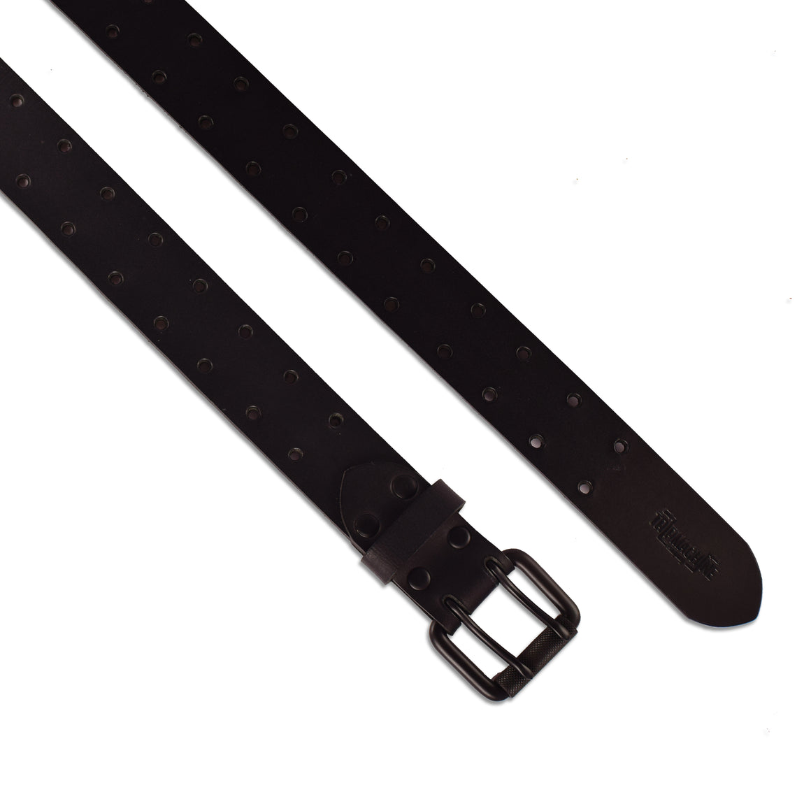 Belt - Matt Black Double Pin