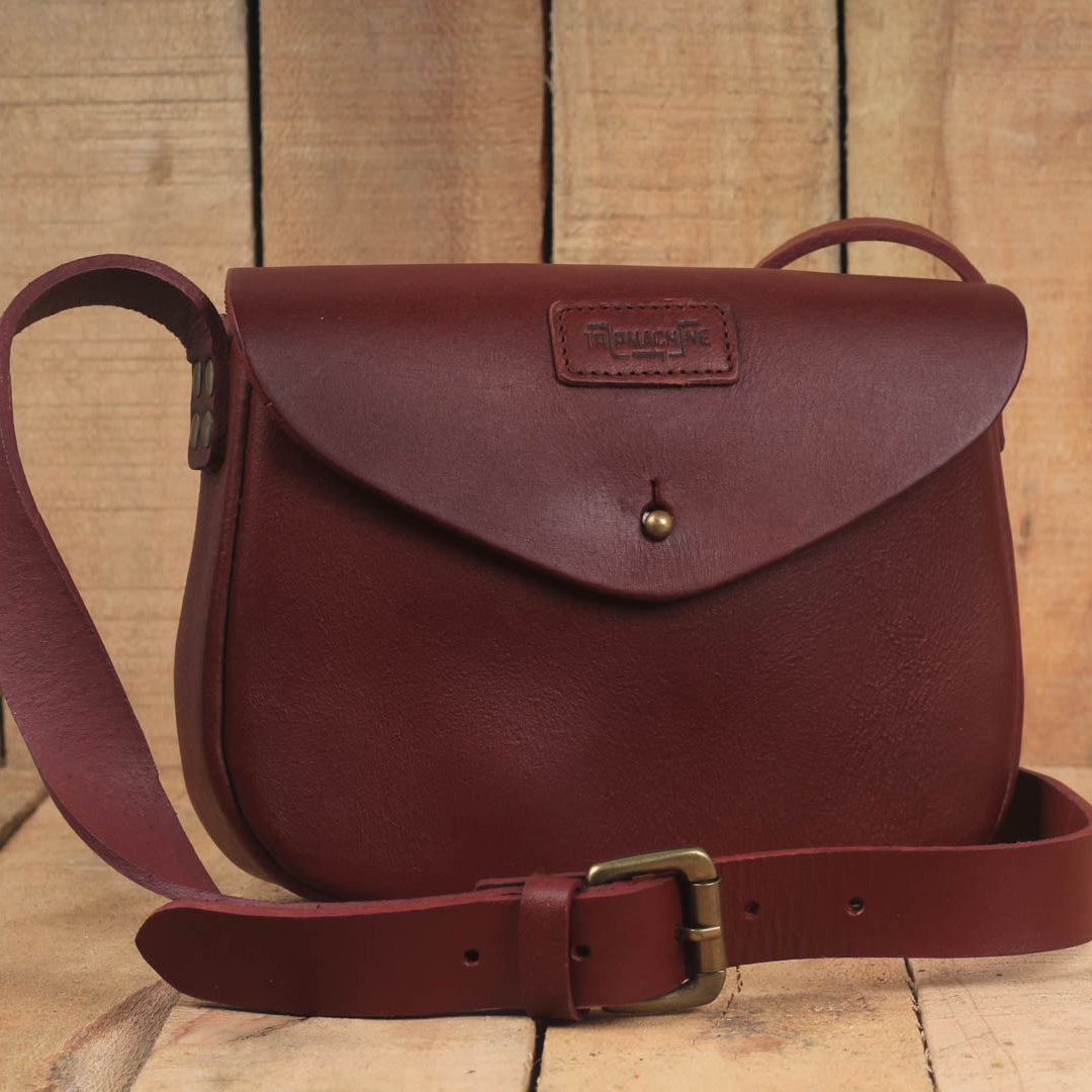 Classic Women's Satchel Cherry Red