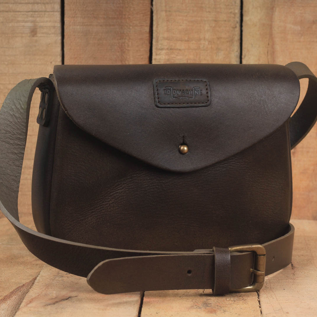 Classic Women's Satchel Tobacco Brown