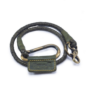 Braided Key Chain Army Green