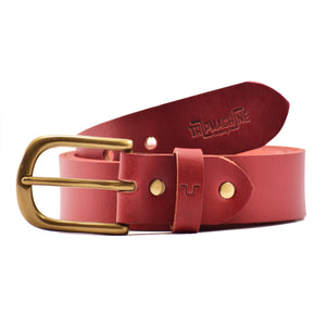 Classic Belt Cherry Red