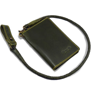 Explorer Wallet Army Green