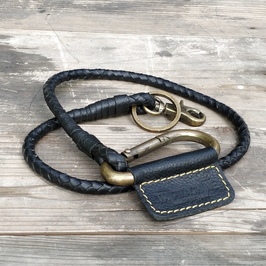 Braided Key Chain Classic Black