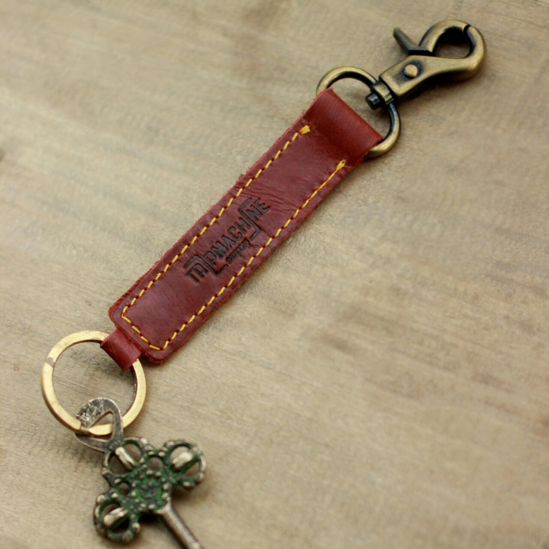 Classic Key Ring Cherry Red