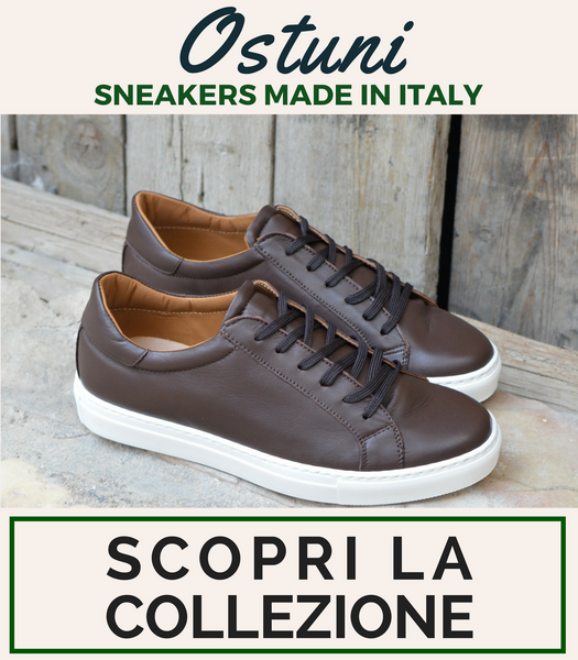 Sneakers Ostuni, Ofanto Italy, Made in Italy
