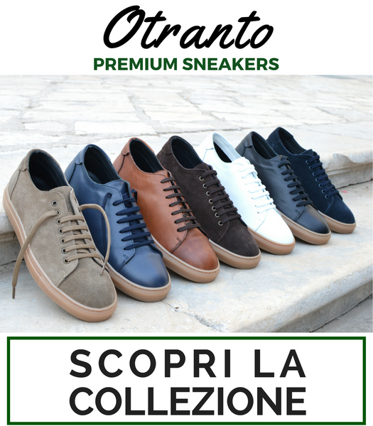 Sneakers Otranto, Made in Italy