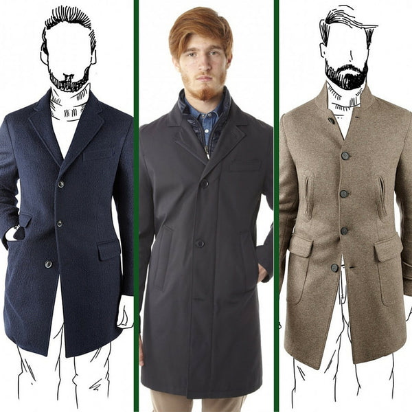 Wool coats, high tech fabric coats, made in italy: Ofanto Italy