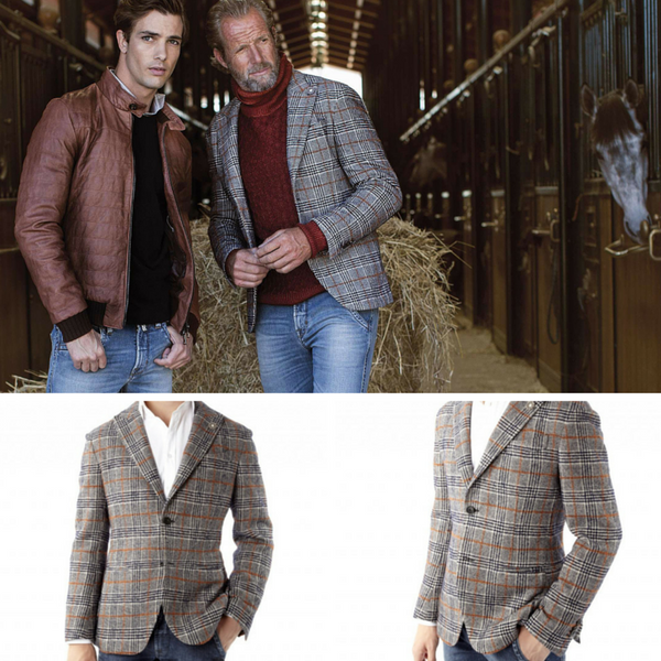 Fradi Clay Jacket made in italy: Ofanto Italy