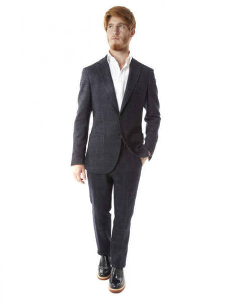 Fradi Prince Wales wool suit made in italy: Ofanto Italy