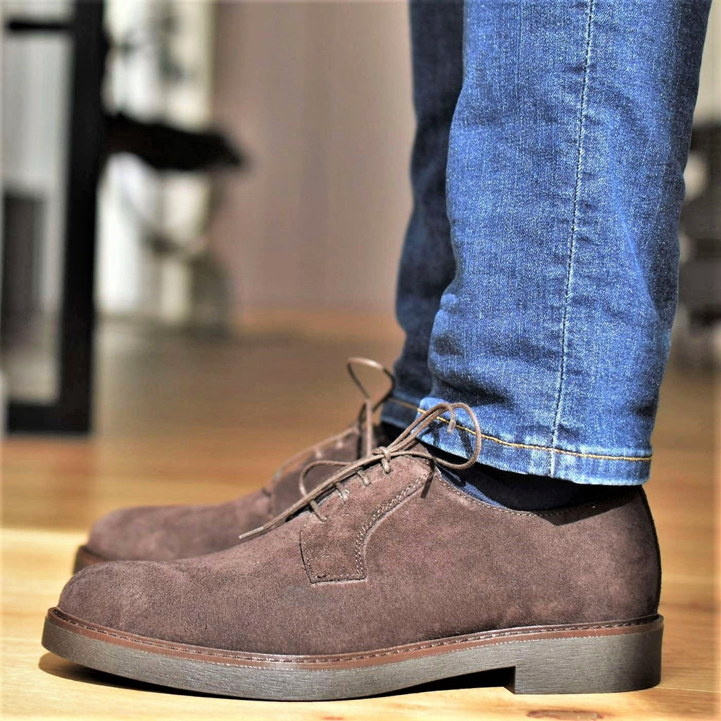 ALESSANDRIA - Brown Suede