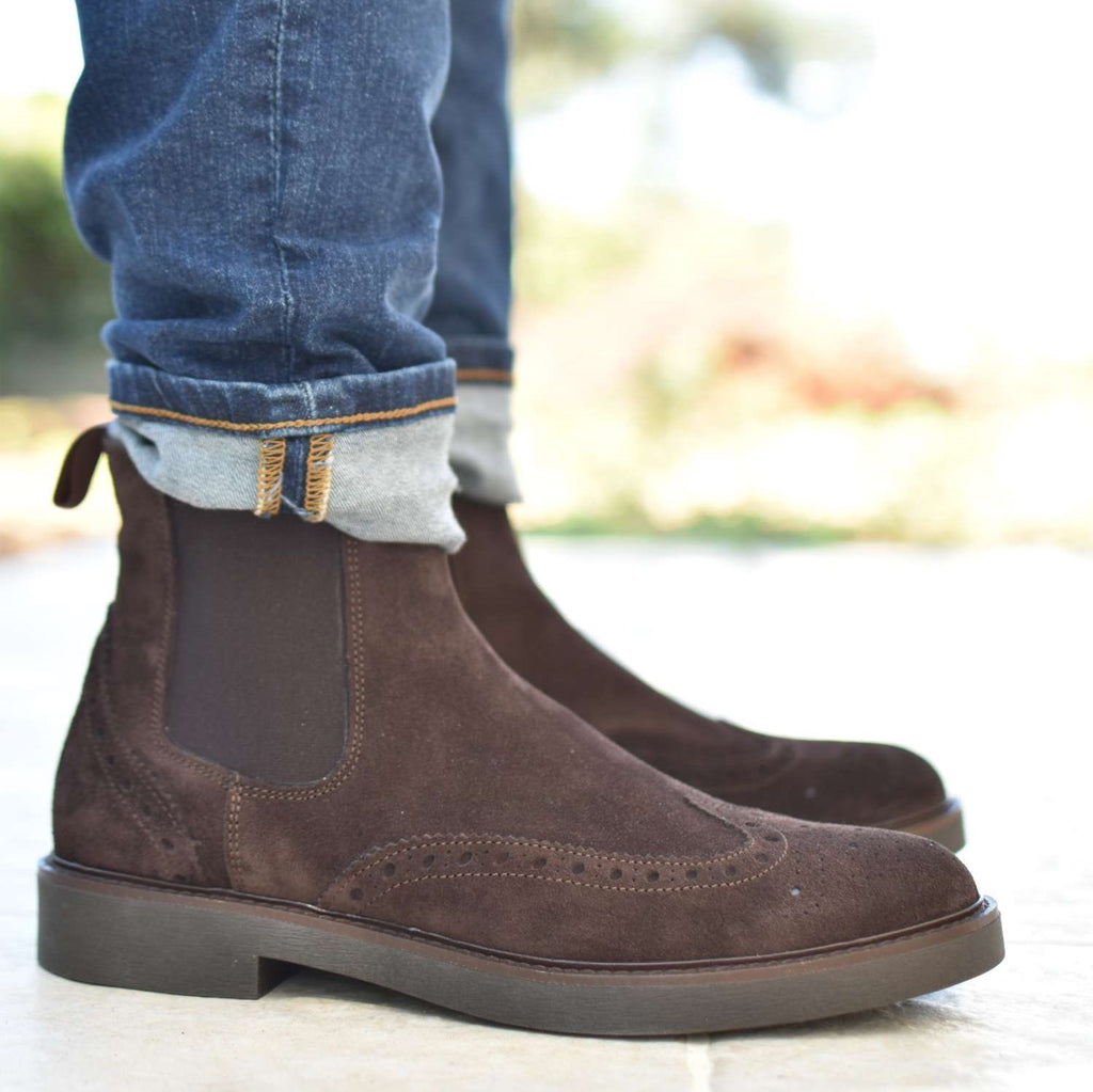 MURAT - Brown Suede