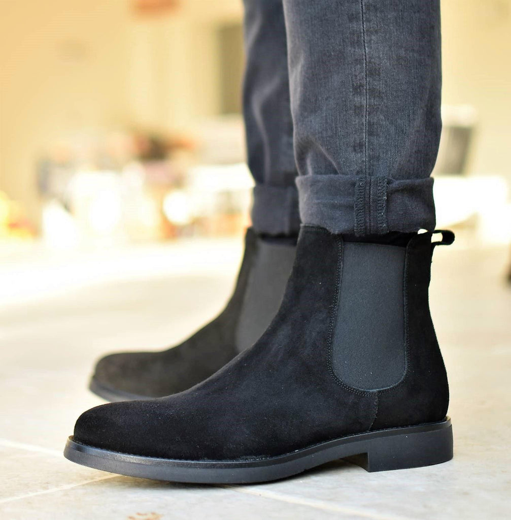 Dark SIENA - Black Suede