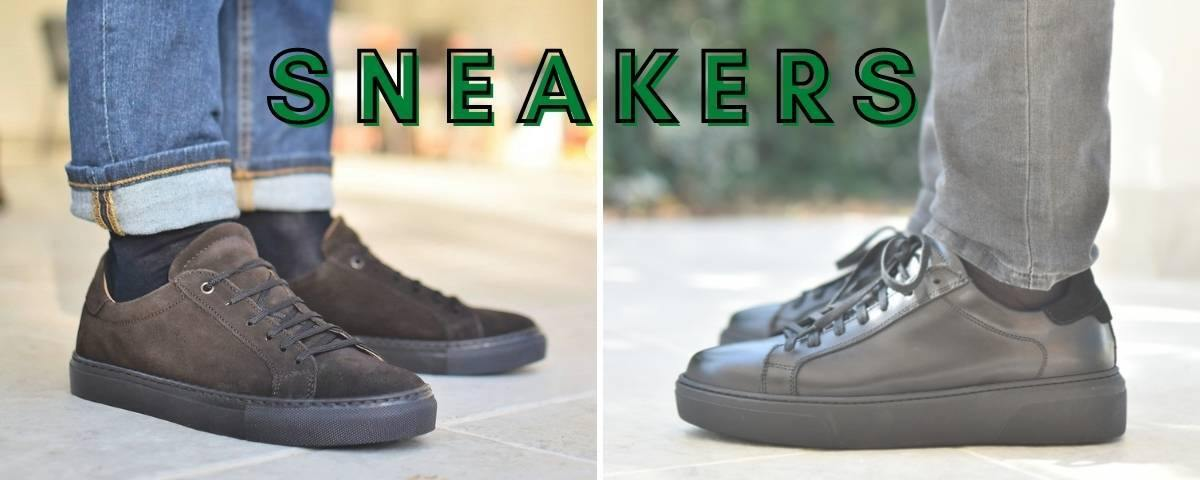 Ofanto Italy winter leather sneakers for men made in italy