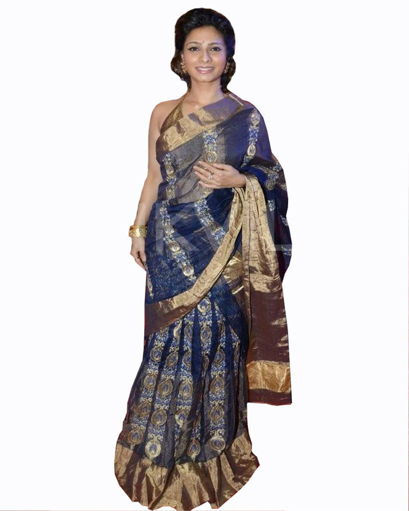 1485 Designer Bollywood Replica Tanishaa Mukerji Saree – Fashion ...