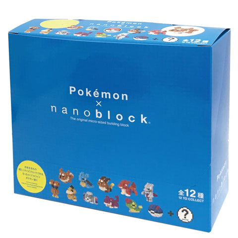 nanoblock Mini Pokemon Series 2 - Box