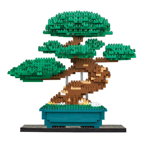 nanoblock Bonsai Pine Deluxe Edition NB 039