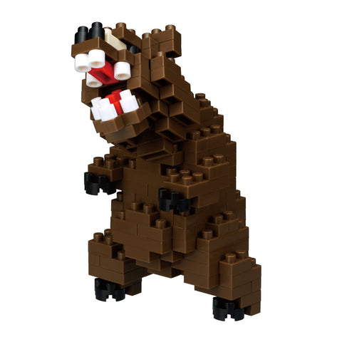 nanoblock Grizzly Bear NBC 222