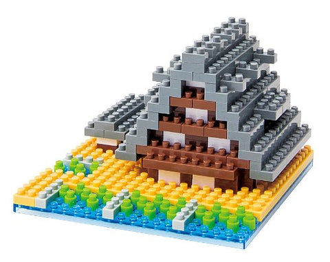 nanoblock Historic Villages of Shirakawa-go NBH 003