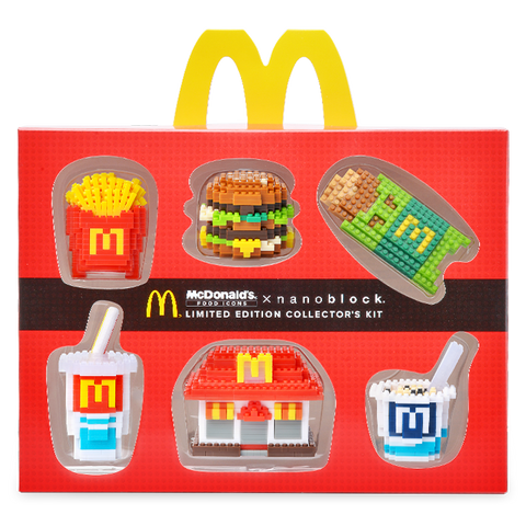 McDonald's x nanoblock Food Icons Complete Set