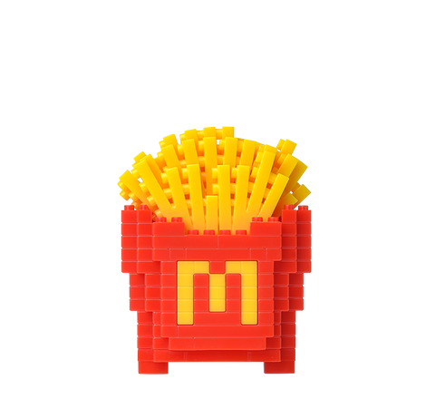 McDonald's nanoblock French Fries