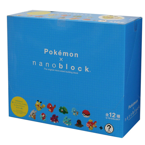 nanoblock Mini Pokemon Series 1 - Box