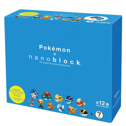 nanoblock Mini Pokemon Series 3 - Box