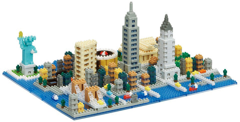 nanoblock New York City Deluxe Edition NB 033