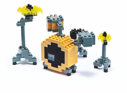 nanoblock Yellow Drum Set NBC 024