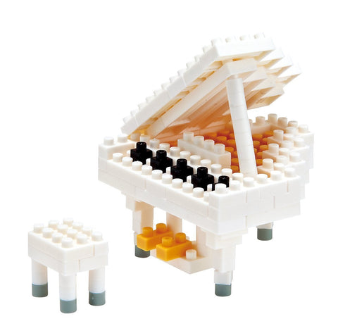White Grand Piano NBC 053
