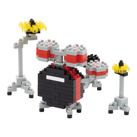 nanoblock Red Drum Set NBC 123