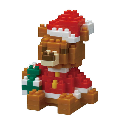 nanoblock Christmas Bear 2016 NBC 201