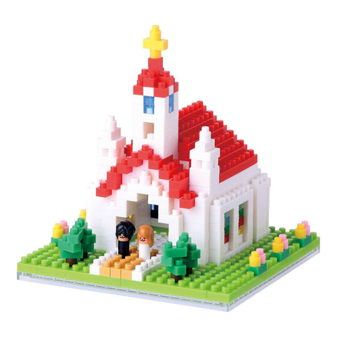 nanoblock Church NBH 087