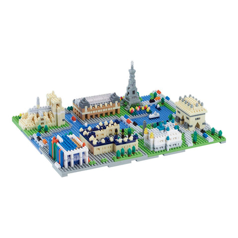 nanoblock Paris City Deluxe Edition NB 047