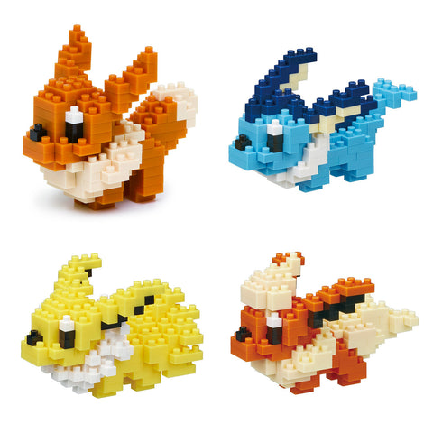 nanoblock Pokemon Eevee Revolutions Bundle