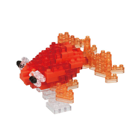 nanoblock Popeyed Goldfish Red NBC 225