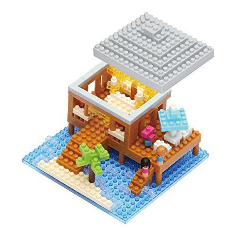 nanoblock Resort Cottage NBI 002