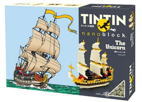 nanoblock Tintin - The Unicorn TIN 04