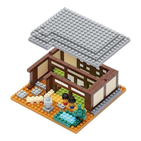 nanoblock Traditional Japanese House NBI 001