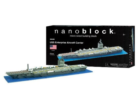 nanoblock USS Enterprise Aircraft Carrier Deluxe Edition NBA 005