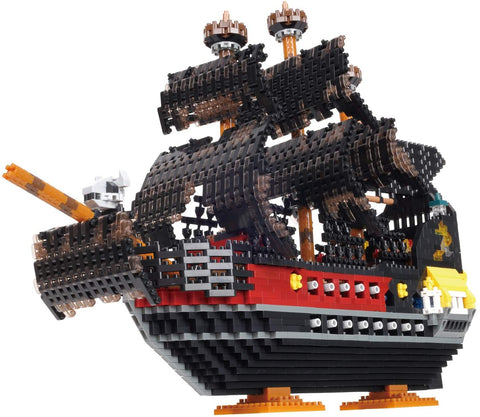 nanoblock Pirate Ship Deluxe Edition NB-050