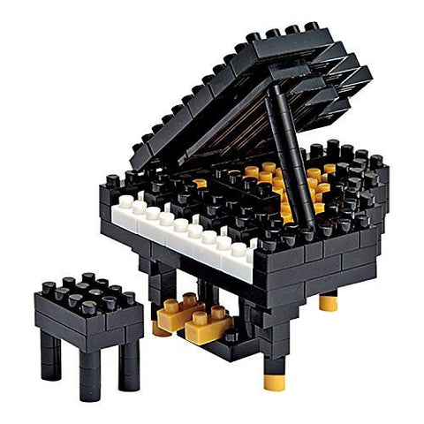 nanoblock Black Grand Piano NBC 017