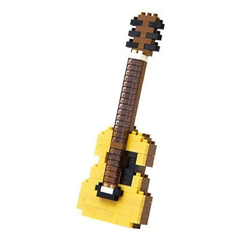nanoblock Acoustic Guitar NBC 096