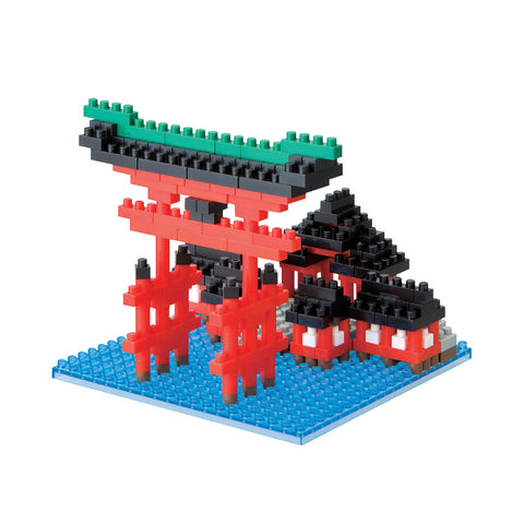 nanoblock Torii Of Itsukushima Shrine NBH 017