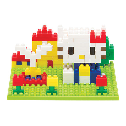nanoblock Hello Kitty Block Art NBH 055