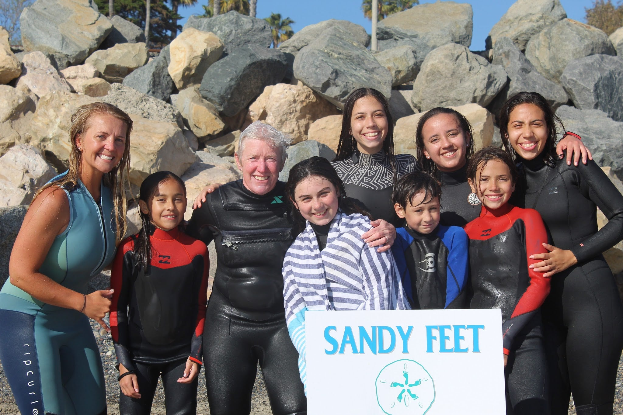 Surf Careers: Mo Langley, founder of Sandy Feet Initiative.