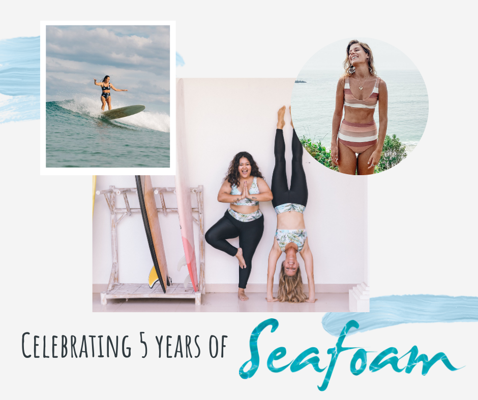 5 years of Seafoam Oceanwear