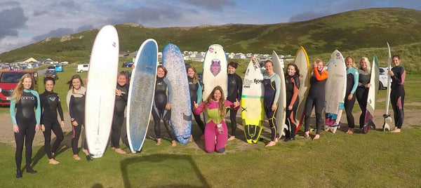 Surf Senioritas Llangennith