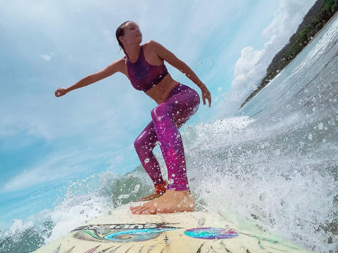 Monique Rotteveel Surfing Wild Thing Leggings